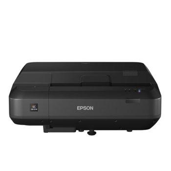 Проектор Epson EH-LS100 V11H879540, 3LCD, WUXGA (1920x1200), 2 500 000 : 1, 4 000 ANSI lm, Wi-Fi, LAN, VGA, 3x HDMI, 2x USB image