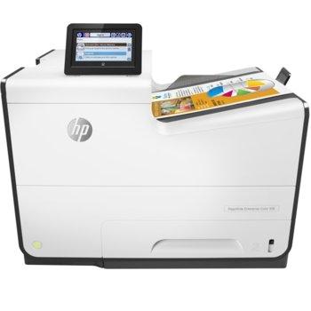 Мастиленоструен принтер HP PageWide Enterprise Color 556dn, цветен, 1200x1200 dpi, 50 стр/мин, двустранен печат, LAN, USB, A4 image