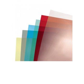 Корица за подвързване за лице, за документи с формат до A4, синя image