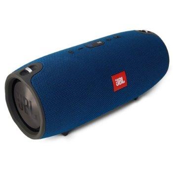 Тонколона JBL Xtreme, 2.0, 40W RMS, безжична, 3.5mm jack/Bluetooth, син, микрофон, водонепромукаемa, до 15 часа работа image