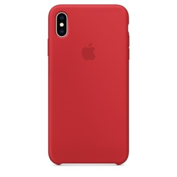 Apple iPhone XS Max Silicone Case - Red product