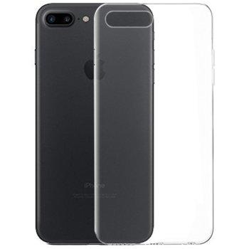 Калъф за Apple iPhone 7/8 Plus, силиконов, тънък, прозрачен image