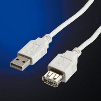 Roline 11.99.8961 USB A(м) към USB А(ж) 3m product