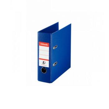 Банков класьор Esselte, за документи с формат до А5, дебелина 7см, с метален кант, син image
