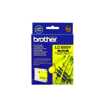 ГЛАВА ЗА BROTHER MFC 240C/440C/465/660/680/845/885/DCP 130C/330/350/540/560/750/770 - Yellow - LC1000Y - заб.: 400k image