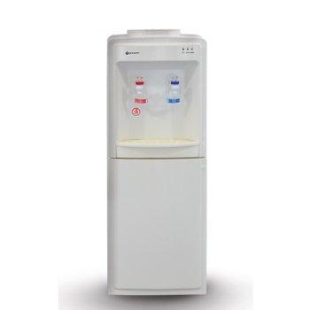 Диспенсър за вода Rohnson R 9704, защита от претоварване, 420W нагревател, автоматичен термостат, бял image