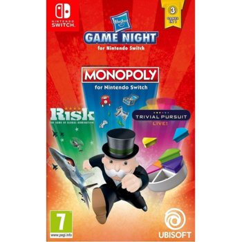 Monopoly n Risk n Trivial Pursuit (Switch) product