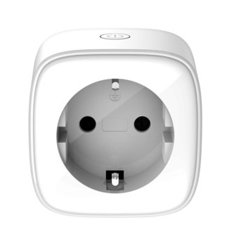 Смарт контакт TD-Link DSP-W118/E, Wi-Fi, Android/iOS, бял image