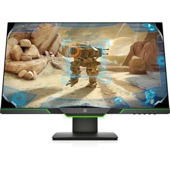 """Монитор HP 25x (3WL50AA), 24.5"""" (62.23 cm) TN панел, Full HD, 1ms, 400 cd/m2, DisplayPort, HDMI image"""