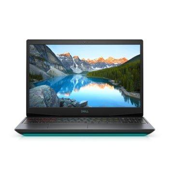 "Лаптоп Dell G5 15 5500 (5397184443927), шестядрен Comet Lake Intel Core i7-10750H 2.6/5.0 GHz, 15.6"" (39.62 cm) Full HD IPS 144Hz Display & GTX 1660 Ti 6GB, (mDP), 8GB DDR4, 512GB SSD, 1x USB 3.2, Windows 10 Home  image"