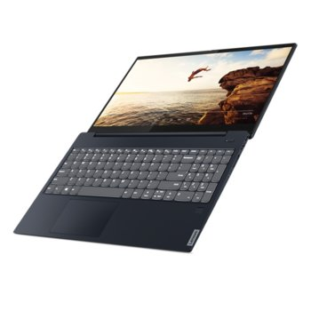 "Лаптоп Lenovo Ideapad S340-15API (81NC00C3BM), четириядрен Zen 2 AMD Ryzen 5 3500U 2.1/3.7GHz, 15.6"" (39.624 cm) Full HD TN Anti-glare Display, (HDMI), 8GB DDR4, 256GB SSD, 1x USB 3.1 Type C, Free DOS image"