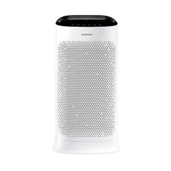 Пречиствател на въздух Samsung AX60R5080WD/EU, дисплей, 4-цветен индикатор, за помещения до 60кв.м., бял image