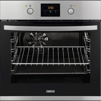 Фурна за вграждане Zanussi ZOB35722XU, 57л. обем, 4 нива на готвене, таймер, инокс image