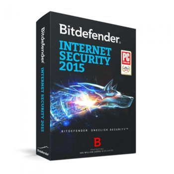 Bitdefender Internet Security 2015 3PC 1Y product