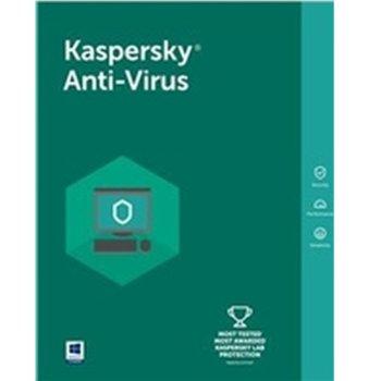 Софтуер Kaspersky Anti-Virus Eastern Europe Edition Base License Pack, лиценз за 1 година, 1 потребител, Windows image