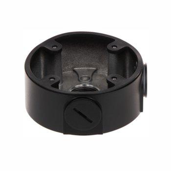 Стойка за камера Dahua PFA13A-E-Black, Ф96.7mmx37.2mm, стойка за куполни камери за употреба на открито и закрито със таванен монтаж, до 3кг., алуминиева сплав, черна image