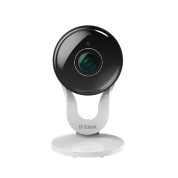 IP камера D-Link DCS-8300LH, за дома, 1080p(1920x1080@30FPS), 2.7mm обектив, H.264, вътрешна, Wi-Fi, Bluetooth, microSD слот, вграден микрофон image