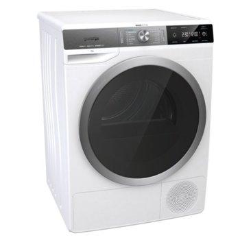 Сушилня Gorenje DS92ILS, 9 кг. капацитет, 14 програми, свободностояща, 60 cm. ширина, кондензационна, термопомпа, IonRefresh, бяла image