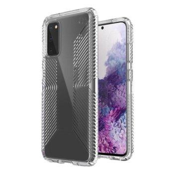 Калъф за Samsung Galaxy S20, хибриден, Speck Presidio Grip 136319-5085, удароустойчив, прозрачен image