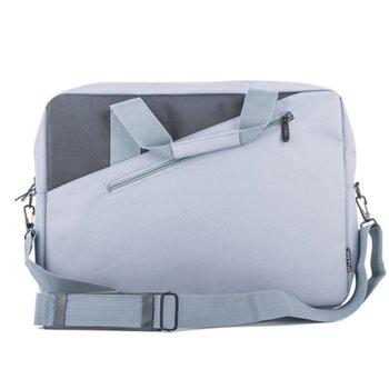"""Чанта за лаптоп Logic Cool Gray до 15.6"""" (39.62cm), от синтетично влакно, сива image"""
