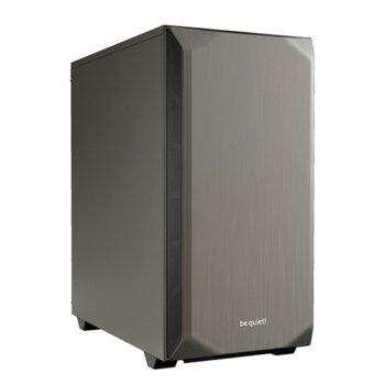 Кутия be quiet PURE BASE 500, ATX/M-ATX/MiniITX, 2x USB 3.0, сива, без захранване image