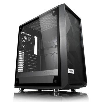 Кутия Fractal Design Meshify C – TG, ATX/mATX/ITX, прозорец, без захранване image