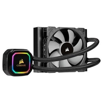 Водно охлаждане за процесор Corsair iCUE H60i RGB PRO XT, съвместимо с 1200/1150/1151/1155/1156/1366 & AMD AM4/AM3/AM2 image