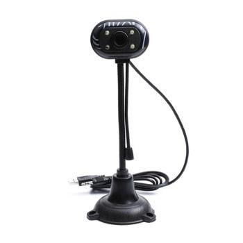 Уеб камера BC1032, микрофон, 640x480/ 30FPS, автоматичен баланс на бялото, USB, черна image
