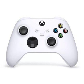 Геймпад Microsoft Xbox Series X Robot White, безжичен, за PC/Xbox Series X/S, Bluetooth, USB Type-C, бял image