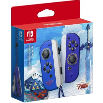 Геймпад Nintendo Switch Joy-Con - The Legend of Zelda Skyward Sword HD Edition, два броя, син image