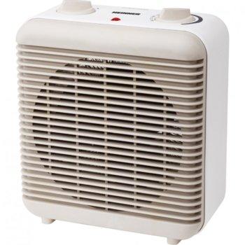 Вентилаторна печка Heinner HFH-L2000GD, 2000W, 2 степени на мощност, термостат, защита срещу прегряване, защита срещу преобръщане, бяла image