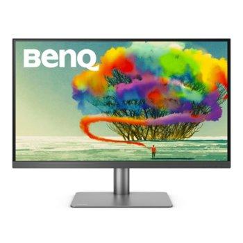 """Монитор BenQ PD2720U, 27"""" (68.58cm) IPS панел, 4K (Ultra HD), 5ms, 20M:1, 350 cd/m2, HDMI, Display Port, Mini Display Port image"""