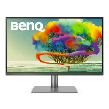 "Монитор BenQ PD2720U, 27"" (68.58cm) IPS панел, 4K (Ultra HD), 5ms, 20M:1, 350 cd/m2, HDMI, Display Port, Mini Display Port image"
