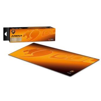 Подложка за мишка Cougar Gaming ARENA - Extra Large, гейминг, щампа, 800 x 300 x 5mm  image
