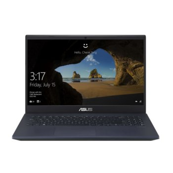 "Лаптоп Asus N571GD-WB511 (90NB0NR1-M08540), четириядрен Coffee Lake Intel Core i5-9300H 2.4/4.1 GHz, 15.6"" (39.62 cm) Full HD 120Hz Anti-Glare Display & GF GTX 1050 4GB, (HDMI), 8GB DDR4, 512GB SSD, Without OS image"