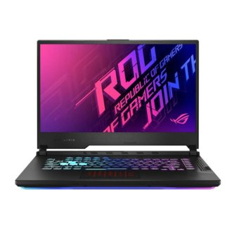 "Лаптоп Asus ROG Strix G15 G512LI-HN065 (90NR0381-M01150), шестядрен Comet Lake Intel Core i7-10750H 2.6/5.0 GHz, 15.6"" (39.62 cm) Full HD IPS 144Hz Display & GF GTX 1650 Ti 4GB, (HDMI), 8GB DDR4, 512GB SSD, 1x USB 3.2 Type C, No OS image"