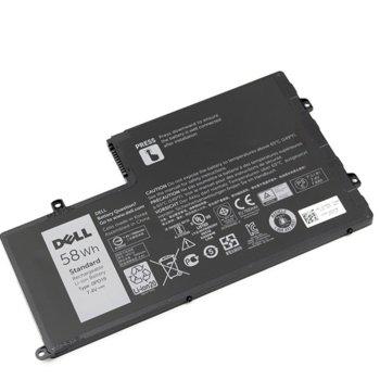 Батерия (оригинална) за лаптоп Dell, съвместима с Inspiron series/ Vostro series, 7.4V, 7800mAh image