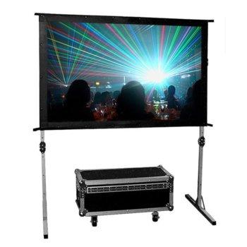 """Екран Avtek Fold 305, на стойка, 3248 x 2105 мм, 142"""" (360.68 cm), 16:10 image"""