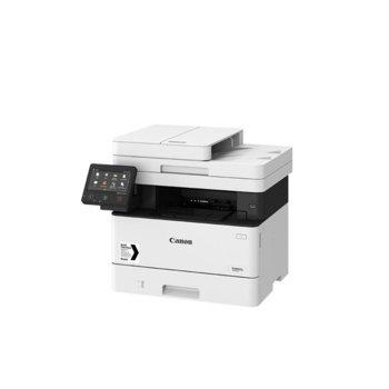 Мултифункционално лазерно устройство Canon i-SENSYS MF446x, монохромен принтер/копир/скенер, 600 x 600 dpi, 38 стр./мин., USB, LAN, Wi-Fi, A4 image