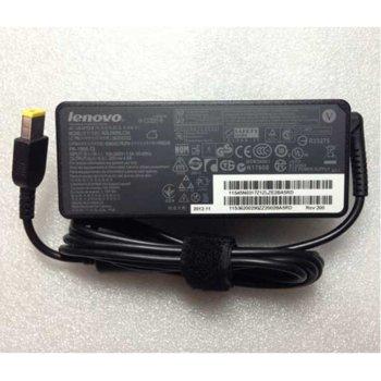 Захранване за лаптопи Lenovo, 20V/2.25A/45W (slim tip, правоъгълна букса) image