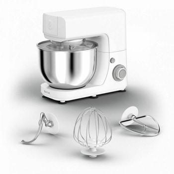 Кухненски робот Tefal MasterChef Essential QB150138, 800 W, 4.8 л. купа, 6 степени на работа, функция Pulse, бял image
