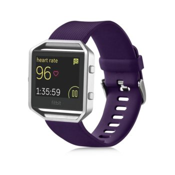 Смарт часовник Fitbit Blaze Large Size, GPS, bluetooth, Mac OS X 10.6 (или по-нова), iPhone 4S (или по-нова), iPad 3 gen. (или по-нова), Android and Windows devices, лилав image