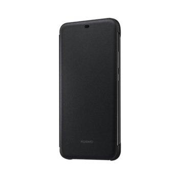 Калъф за Huawei Mate 20 Lite, Flip cover, поликарбонат, Huawei A-Sydney, черен image