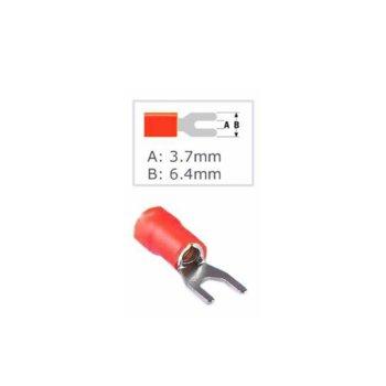 Кабелна обувка Fast On ST-011/SV 1.25-3.5L, 100 бр., червена image