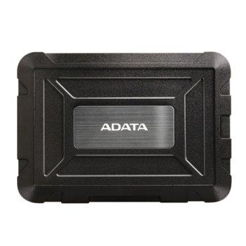 """Кутия за Харддиск A-Data ED600, за 2.5""""(6.35cm) HDD/SSD, USB A 3.0, черна image"""