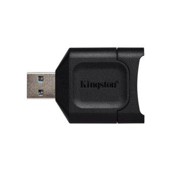 Четец за карти Kingston MobileLite Plus SD, USB 3.2, SD/SDXC/SDHC, черен image