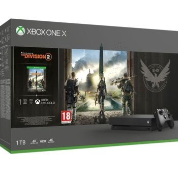 Xbox One X + Tom Clancys The Division 2 Bundle product