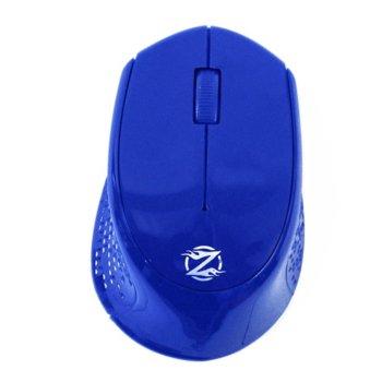 Мишка ZornWee W770, оптична (1600 dpi), безжична, USB, cиня image
