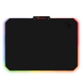 Подложка за мишка A4tech Bloody RGB MP-50RS, гейминг, черен, 358 x 256 x 2.6 mm image