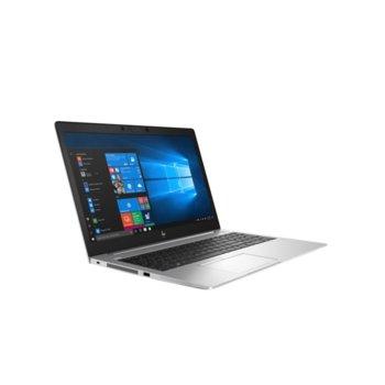 "Лаптоп HP EliteBook 850 G6 (6XD79EA)(сребрист), четириядрен Whiskey Lake Intel Core i5-8265U 1.6/3.9 GHz, 15.6"" (39.62 cm) Full HD IPS Anti Glare Display, (HDMI), 8GB DDR4, 256GB SSD, 1x Thunderbolt, Windows 10 Pro  image"